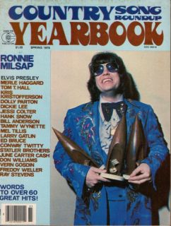 Ronnie Milsap Dolly Parton June Carter Merle Haggard J