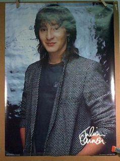 Julian Lennon Vintage Rock Roll Poster