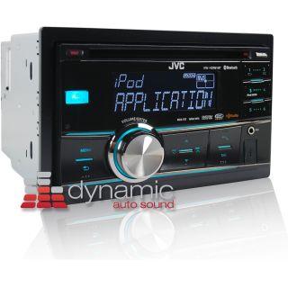 JVC KW HDR81BT in Dash CD Car Stereo Receiver w Bluetooth HD Radio New