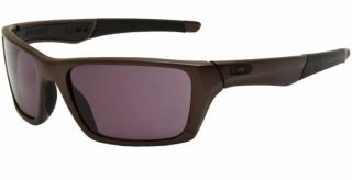 New Oakley Sunglasses Jury Distressed Grey w Warm Grey Lens 004045 01
