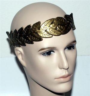 Roman Emperor Julius Caesar Laurel Leaf Hat Costume New