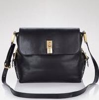 Authentic Black Marc Jacobs Baxter Crossbody Shoulder Bag