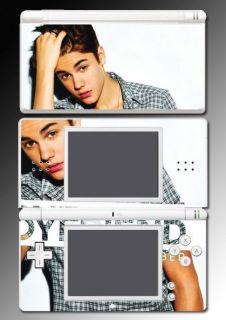 Justin Bieber Boyfriend Selena Vinyl Game Skin Cover 30 for Nintendo