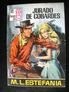 Jurado de Cobardes 566 Estefania Book Spanish 60s