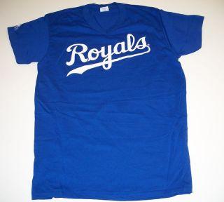 Kansas City Royals Royal Blue Baseball Jersey Adult