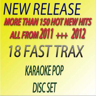 NEW RELEASE KARAOKE CDG,18 FASTRAX,POP SINGERS ADELE,BRUNO MARS,+FREE