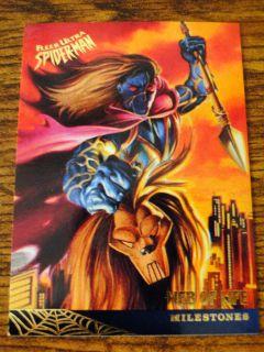 Kaine 1995 Ultra Spider Man Card 95 Joe DeVito