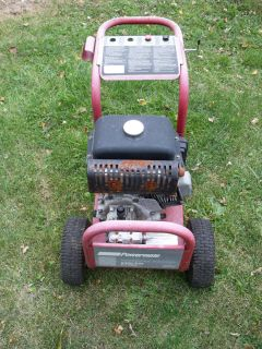 Coleman Powermate Pressure Washer 2400 PSI 2 3 GPM Good Condition