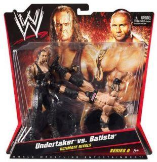 WWE Supreme Teams Mark Undertaker vs Batista New
