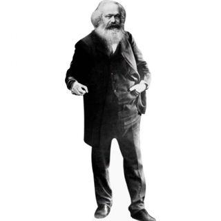 H10041 Karl Marx Cardboard Cutout Standee Standup