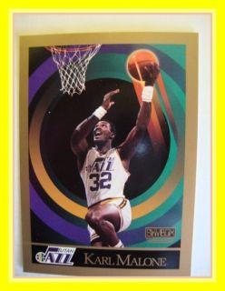 Skybox 1990 91 NBA 282 Karl Malone Jazz
