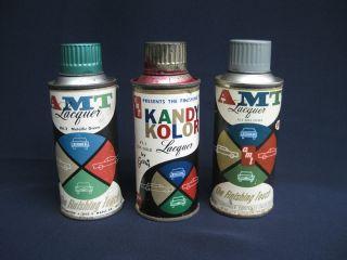 Vintage 1960s AMT Spray Paint Kandy Kolor for Model Car Kits