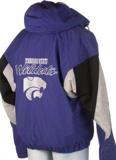 R8) L KANSAS STATE WILDCATS KSU purple FOOTBALL adult jersey patch