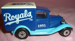 Kansas City Royals Model A Ford Truck Matchbox delivery van car MLB