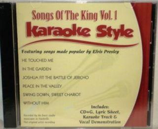 Songs of The King Elvis Presley Karaoke New CD G