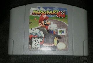 RARE 1996 N64 Mario Kart Game Only