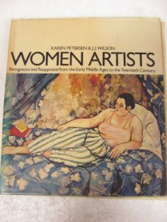 Book Women Artists Karen Peterson J J Wilson
