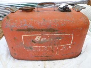 Vintage 6 Gallon Gale Bosun Boat Outboard Motor Gas Tank
