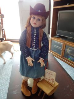 Collection New Frontier Savannah Porcelain Connie Johnson Doll SALE