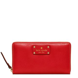 Kate Spade New York Wellesley Neda Red Wallet