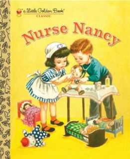 Nurse Nancy by Kathryn Jackson Little Golden Book Kids Story Hardcover