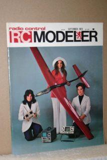 Control Modeler RC Magazine September 1973 Kavan Jet Ranger