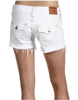 Brand Jeans Optic Rinse White Denim Keira Cut Off Shorts