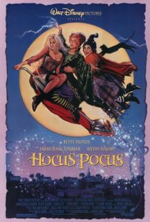Pocus 1993 27 x 40 Movie Poster Bette Midler Kathy Najimy Style A
