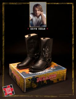 Keith Urban Autographed Pair of Durango Boots Men's Size 9M