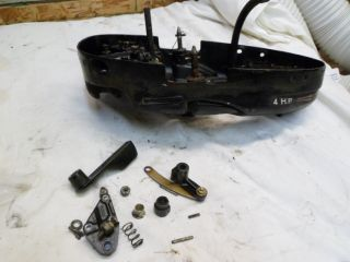 1970 Mercury 4 HP Model 40 Lower Motor Cover Outboard Boat Motor