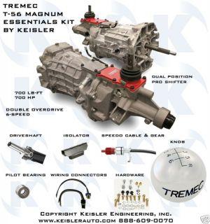 Tremec T 56 Magnum 6 Speed Transmission Kit by Keisler
