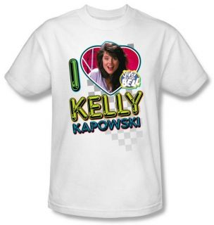 Saved by The Bell I Love Kelly Kapowski T Shirt