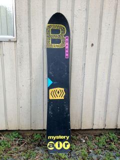 Mystery Air Snowboard by Burton CK Craig Kelly Sims RARE
