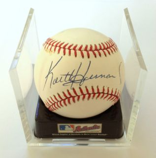 Keith Hernandez Autographed Baseball, Signed by NY Mets World Series