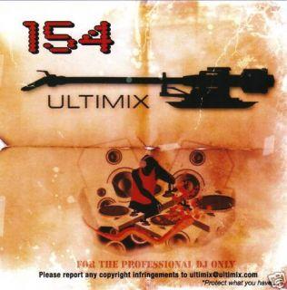 Ultimix 154 CD Ultimix Records Ke$Ha Lady Gaga Madonna