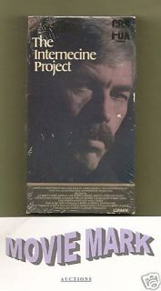 PROJECT 1974 (CBS/Fox Video) James Coburn Lee Grant Keenan Wynn! vhs