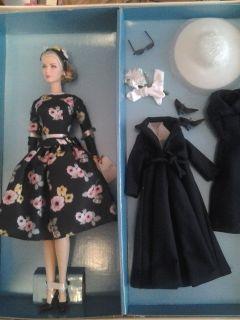 Grace Kelly Barbie Silkstone The Romance Giftset Trousseau Hat Gloves
