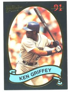 Ken Griffey Jr 1991 American Sports Monthly Card 33 NM Mint Seattle