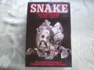 Ken Stabler Signed Autobiography Snake Oakland Raiders