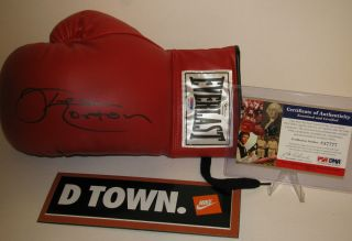 Ken Norton Signed Everlast Boxing Glove Autographed w PSA DNA COA