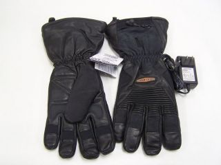 Harley Davidson Heated Gloves XXL 2XL 98356 09VM 022L