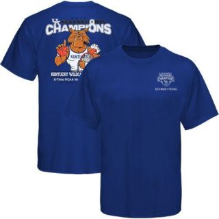 Kentucky Wildcats 2012 NCAA Mens Basketball National Champions Shirts