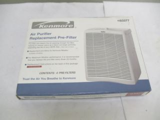Kenmore Replacement Air Cleaner Purifier Pre Filters