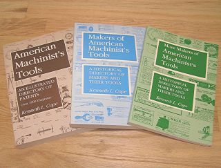 MACHINIST'S TOOLS BOOK LOT by KENNETH L. COPE VINTAGE HAND TOOL