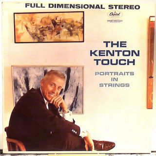 Stan Kenton The Kenton Touch 1960 Capitol 1276 Stereo Mint