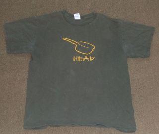 Pot Head Graphic Humor T Shirt Large