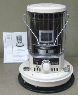 Portable Kerosene Heater 11 500 BTU with Owners Manual
