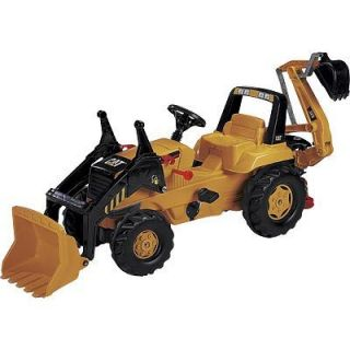 Kettler Cat Pedal Tractor Loader Backhoe 2 Seater