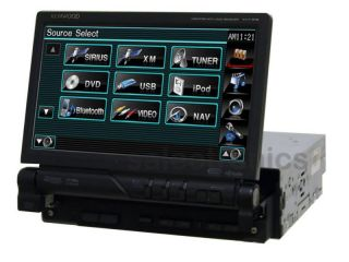 Kenwood KVT 696 Car LCD DVD CD Receiver Player Stereo
