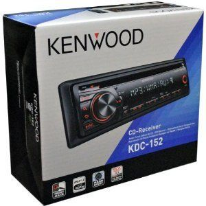 Kenwood KDC 152 in Dash Car Stereo CD Player Am FM Radio Receiver with
